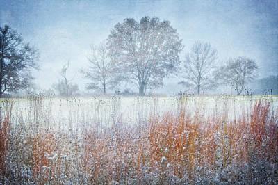 Snowy Field 2 - Winter At Retzer Nature Center  Poster by Jennifer Rondinelli Reilly - Fine Art Photography