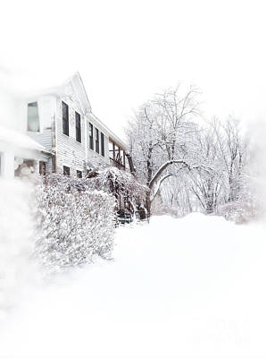Snowy Morning  Poster by HD Connelly