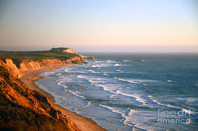 Poster featuring the photograph Socal Sunset Ocean Front by Clayton Bruster