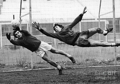 Soccer Goalies, 1974 Poster by Granger