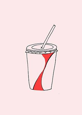Soda Cup Poster