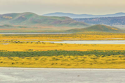 Poster featuring the photograph Soda Lake To Caliente Range by Marc Crumpler