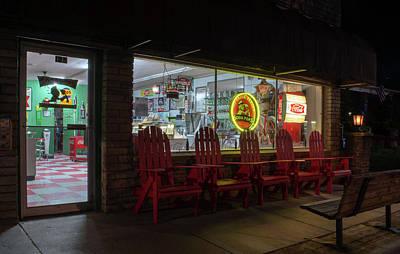 Soda Pops At Night Poster