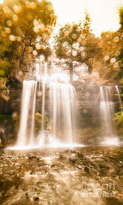 Soft Dream Like Waterfall Poster by Jorgo Photography - Wall Art Gallery