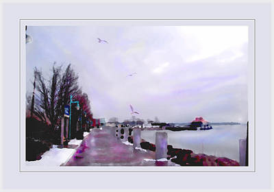 Poster featuring the photograph Soft Winter Day by Felipe Adan Lerma