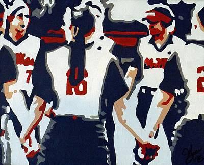 Softball Sisterhood Poster by Steve Cochran