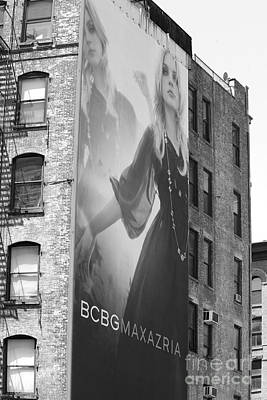 Soho Advertising Poster by Chuck Kuhn
