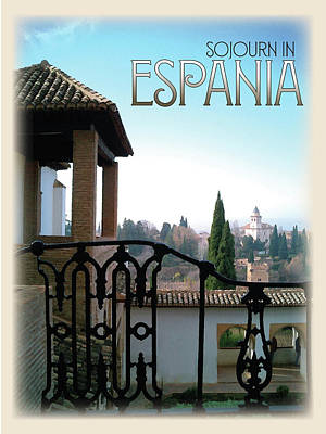 Sojourn In Espania Poster