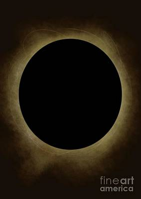Solar Eclipse  Poster by Emma Hardacre