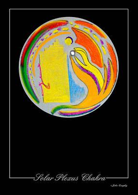 Solar Plexus Chakra Poster by John Quigley