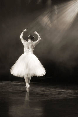 Solo Ballerina Poster by Kenneth Mucke