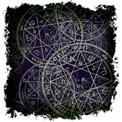 Solomon Magic Poster by Kristian Leov