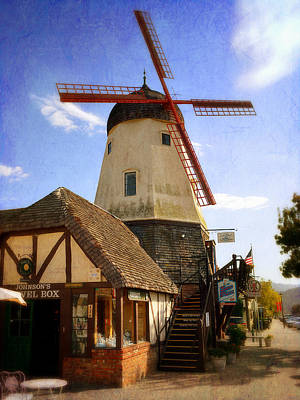 Solvang - Small Town America Poster