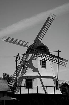 Solvang Windmill Poster by Ivete Basso Photography