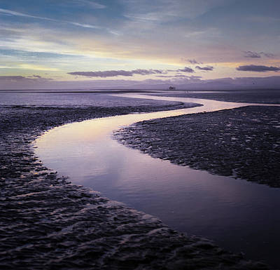 Solway Firth Dawn Poster by Dave Bowman