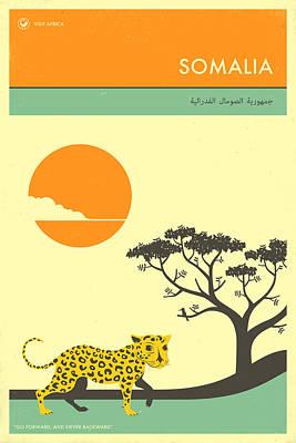 Somalia Travel Poster Poster