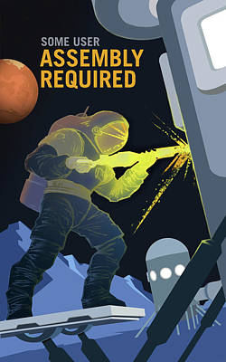 Some User Assembly Required Poster by Susan Wooler