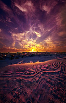 Someone Is Calling Poster by Phil Koch