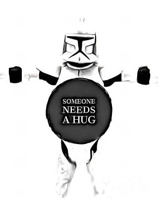 Someone Needs A Hug Poster