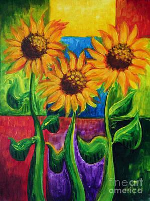Sonflowers II Poster
