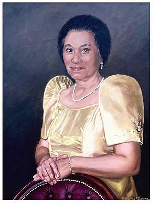 Poster featuring the painting Sonia by Rosencruz  Sumera