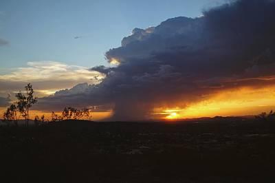 Sonoran Desert Thunderstorm Poster