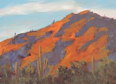 Sonoran Sunset - Art By Bill Tomsa Poster