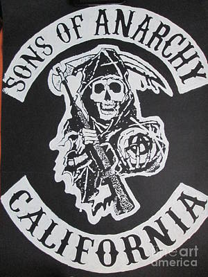 sons of anarchy posters fine art america rh fineartamerica com Sons of Anarchy Symbol Sons of Anarchy Logo Drawings