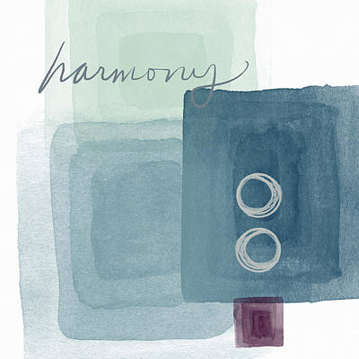 Soothing Harmony- Art By Linda Woods Poster