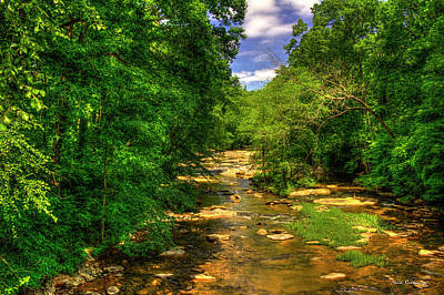 Sope Creek At Paper Mill Road Cobb County Art Poster