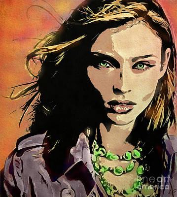 Sophie Ellis-bextor Poster by Sergey Lukashin