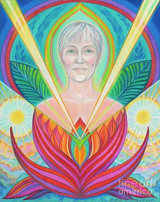 Soul Portrait  Beth Poster by Debra A Hitchcock