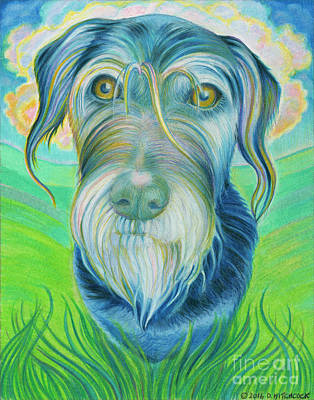 Soul Portrait Of Digby Poster by Debra A Hitchcock