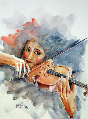 Sound Of Violin... Poster