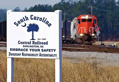 South Carolina Central Railroad 2010 A Poster by Joseph C Hinson Photography