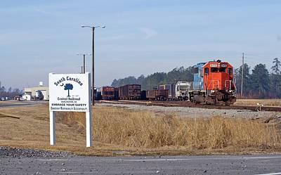 South Carolina Central Railroad 2010 B Poster by Joseph C Hinson Photography