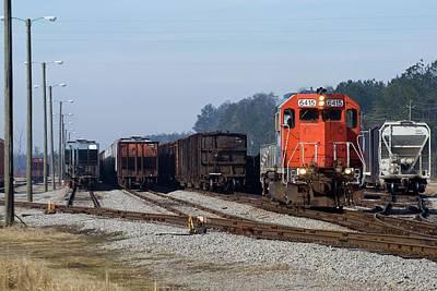 South Carolina Central Railroad 6415 E Poster by Joseph C Hinson Photography