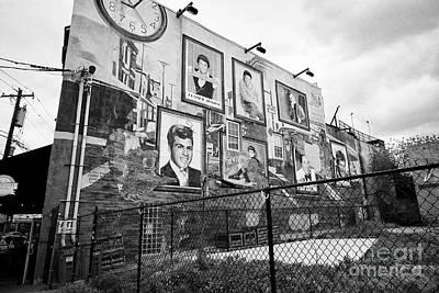 south Philadelphia musicians mural italian market USA Poster