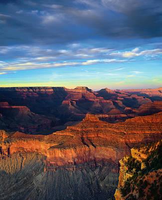 South Rim Grand Canyon Poster