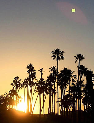 Southern California Sunrise Poster by Art Block Collections