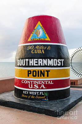 Southernmost Point Poster by Elena Elisseeva