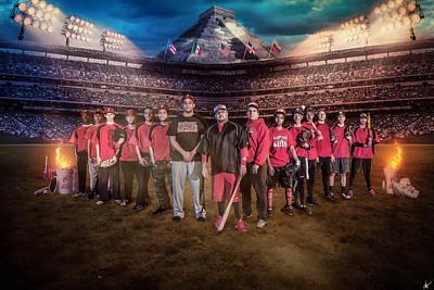 Southwest Aztecs Baseball Organization Poster by Nicholas Grunas