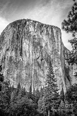 Southwest Face Of El Capitan From Yosemite Valley Poster by RicardMN Photography