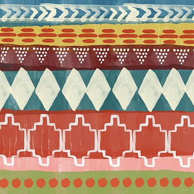 Southwestern 1- Art By Linda Woods Poster