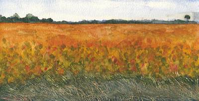 Soybean Field Poster by Jeffrey Todd Moore