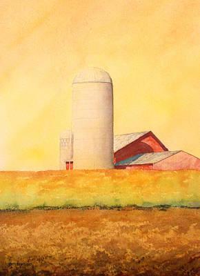 Soybean Field Poster
