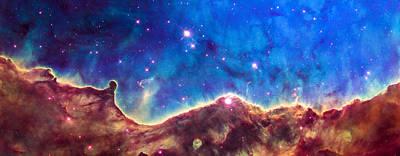 Space Image Nebula Panorama Poster