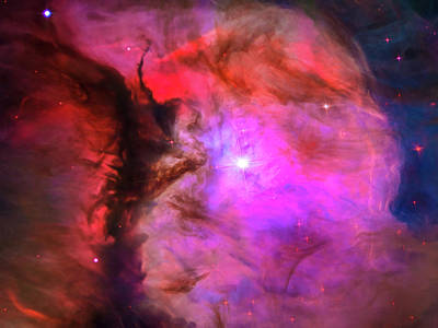 Space Image Orion In Miniature Poster