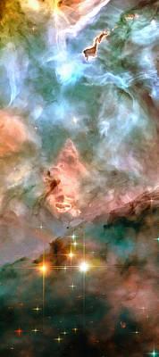 Space Image - Stars And Nebula Poster