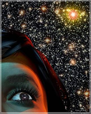 Space Poster by Jim Coe
